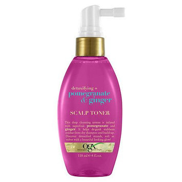 OGX Detoxifying + Pomegranate & Ginger Scalp Toner - 4 oz.