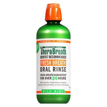 TheraBreath Oral Rinse Mild Mint - 33.81 oz.