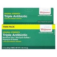 Walgreens Triple Antibiotic Ointment 2 pk - 2 oz.