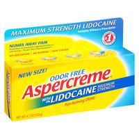 Aspercreme Creme with Lidocaine, 4.7 oz