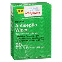 Walgreens Antiseptic Wipes - 20 ea
