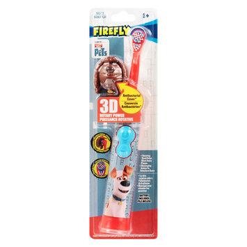 Firefly Kids! 3D Power Toothbrush Secret Life Of Pets - 1 ea