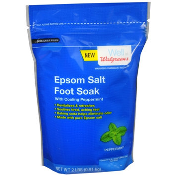 Walgreens Epsom Salt Bag with Baking Soda Peppermint - 32 oz.