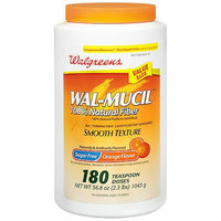 Walgreens Wal-Mucil 100% Natural Fiber Laxative/Diet Supplement Powder
