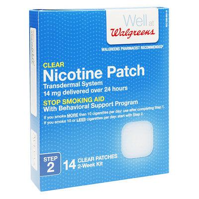 Walgreens Nicotine Patch 14 mg - 14 ea