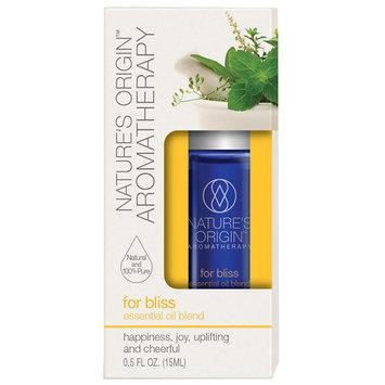 Nature's Origin Essential Oil Blend for Bliss - 0.5 oz.