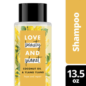 Love Beauty and Planet Coconut Oil and Ylang Hope and Repair Shampoo