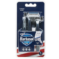 Barbasol Ultra 3 Disposable Razors - 4 ea