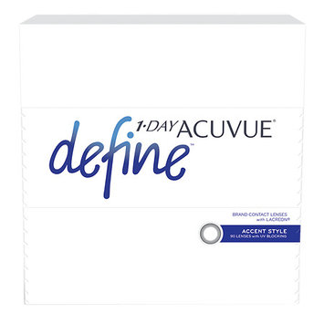 1-Day Acuvue Define 90Pk, Accent - Contact Lens