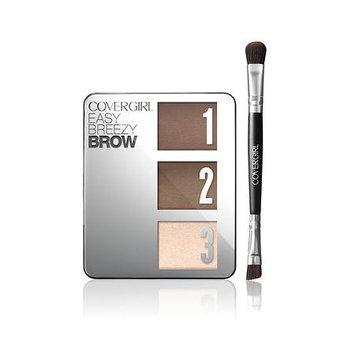 Olay Covergirl Easy Breezy Brow Powder Kit 615 Honey Brown - 0.14oz