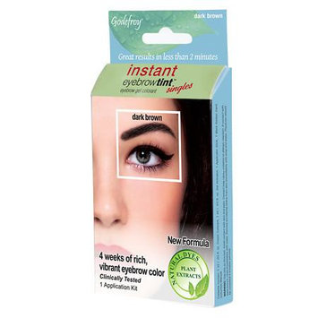 Innovative Beauty Products, L.l.c. Innovative Beauty Products 1403 Instant Eyebrow Tint Botanicals Singles - Dark Brown