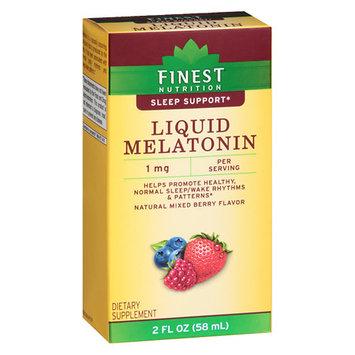 Finest Nutrition Melatonin 1 mg Dropper - 2 oz.
