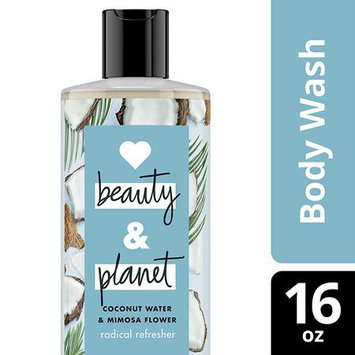 Love Beauty and Planet Coconut Water and Mimosa Flower Radical Refresher Body Wash 16 oz