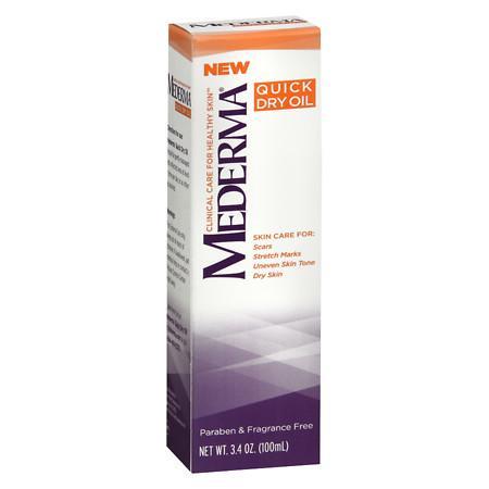 Mederma Quick Dry Oil - 3.38 oz.