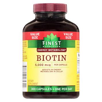 Finest Nutrition Biotin 5000 mcg Tablets - 300 ea