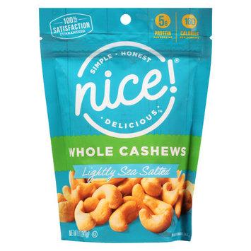 N'ice Nice! Whole Cashews Roasted - 8.5 oz.