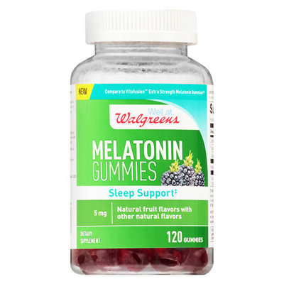 Walgreens Melatonin Extra Strength Gummies - 120 ea