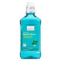 Walgreens Antiseptic Mouthwash Fresh Mint - 33.8 oz.