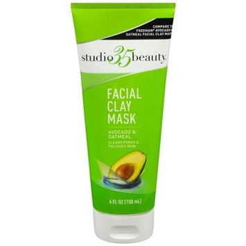 Studio 35 Clay Avocado Oatmeal Mask - 6 oz.