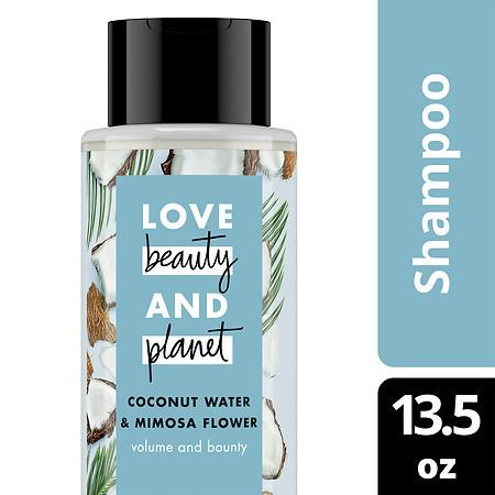 Love, Beauty & Planet Volume and Bounty Shampoo Coconut Water & Mimosa Flower