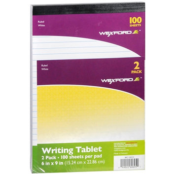 Wexford Writing Tablets - 2 ea - School Supplies