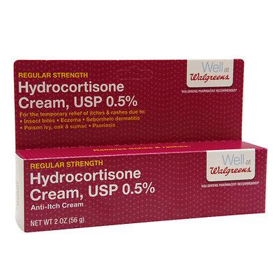Walgreens Hydrocortisone Cream 0.5% - 2 oz.