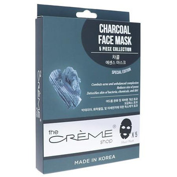 The Creme Shop Charcoal Face Mask 5pc Collection - 6.25 oz.