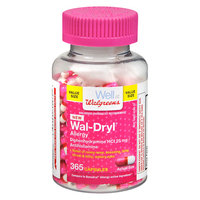 Walgreens Wal-Dryl Allergy Capsules - 365 ea