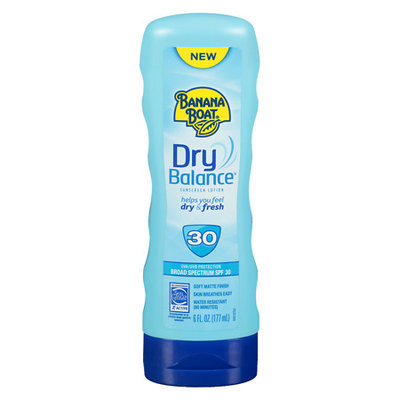 Banana Boat Dry Balance Sunscreen Lotions