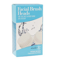 Studio 35 Face Brush Head Refills - 2 ea