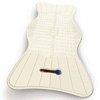 AquaSense Non-Slip Bath Mat with Built-In Temperature Indicator - 1 ea