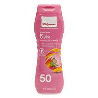 Walgreens Baby Sunscreen Lotion SPF50