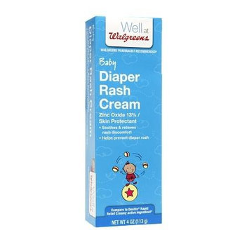 Walgreens Diaper Rash Cream, 4 oz