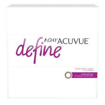 1-Day Acuvue Define 90Pk, Vivid - Contact Lens
