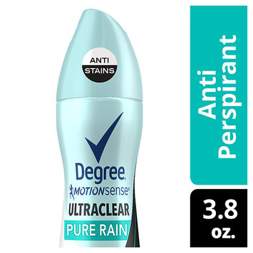 Degree Women UltraClear Antiperspirant Deodorant Dry Spray Black + White Pure Rain 3.8 oz