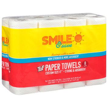 Smile & Save TUF Paper Towels - 8 ea