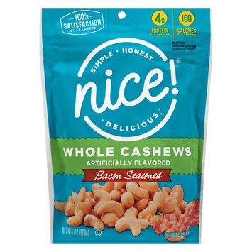 N'ice Nice! Maple Bacon Cashews Bacon Seasoned - 6 oz.