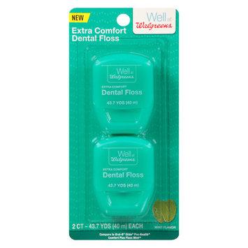 Walgreens Xtra Comfort Floss Mint - 2 ea