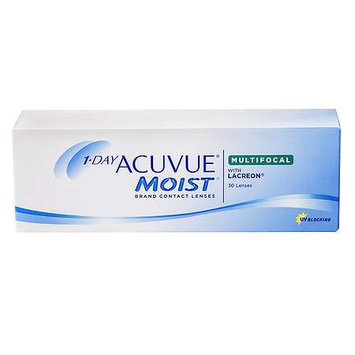1-Day Acuvue Moist MultiFocal 30Pk Contact Lens