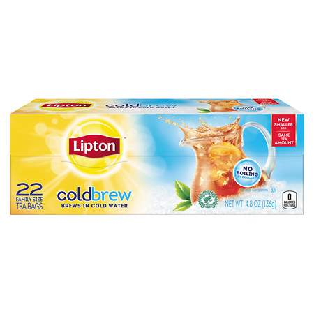 Lipton Tea - Cold Brew - 1 Box (22 tea bags)