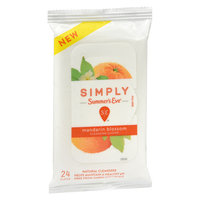 Simply Summer's Eve Mandarin Blossom Feminine Wipe - 24ct