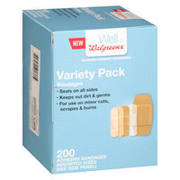 Walgreens Flexible Fabric Bandages Variety Pack - 200 ea