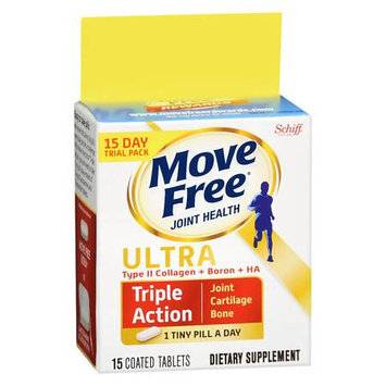 Schiff Move Free Ultra Triple Action Supplement - 15 ea