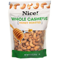 Nice! Whole Cashew Honey Roasted - 8.5 oz.