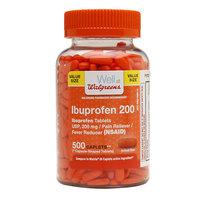 Walgreens Ibuprofen 200 mg Caplets - 500 ea