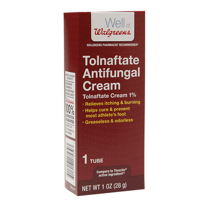 Walgreens Tolnaftate Antifungal Cream 1% - 1 oz.