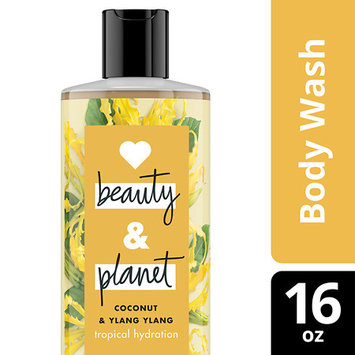 Love Beauty and Planet Coconut and Ylang Ylang Tropical Hydration Body Wash 16 oz