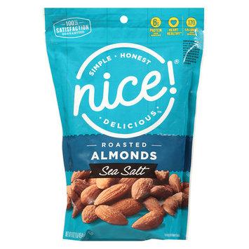 Nice! Roasted & Salted Almonds Sea Salt - 16 oz.