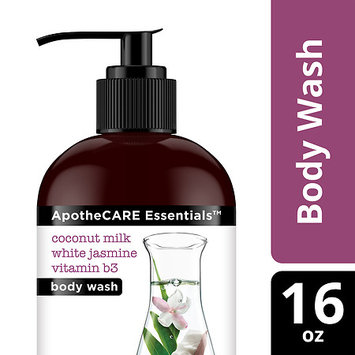 ApotheCARE Essentials The Rejuvenator Coconut Milk White Jasmine B3 Body Wash 16 oz