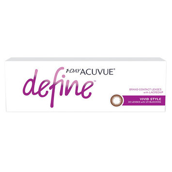 1-Day Acuvue Define 30Pk, Vivid - Contact Lens